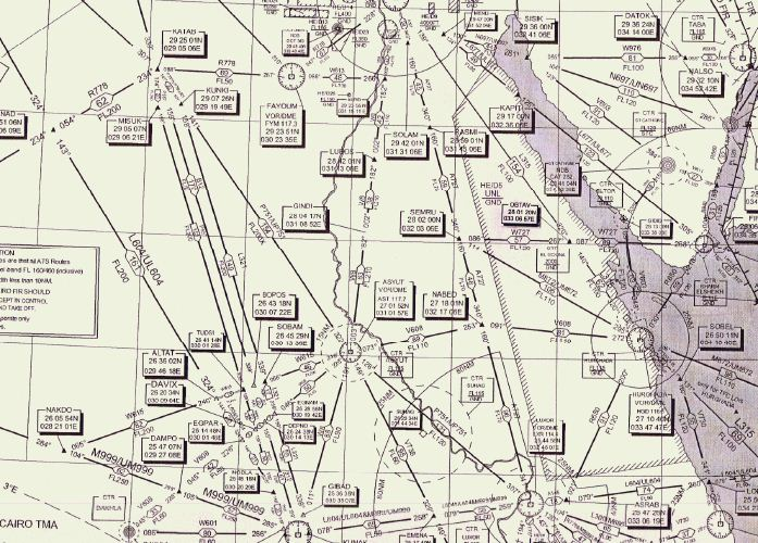 flight preparation | El Gouna and back